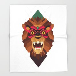 Masquerade Throw Blanket