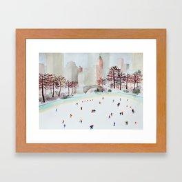 Skate Kids Framed Art Print