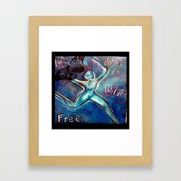 sacredportrait Framed Art Print