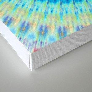 mandala waves Canvas Print