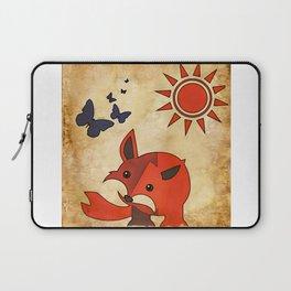 The Fox & Butterfly Clan Laptop Sleeve