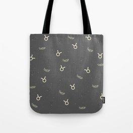 Taurus Pattern Tote Bag
