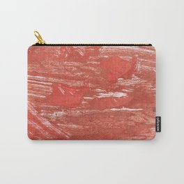 Indian red colorful wash drawing Carry-All Pouch
