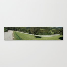 Hairpin Bends, France Canvas Print