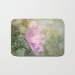 Rose of Sharon Morning Dew Bath Mat