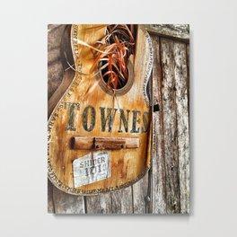 Townes Guitar Metal Print