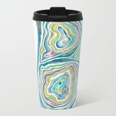 Geode Series: Taking on Water Metal Travel Mug
