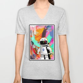 space painting Unisex V-Neck