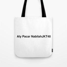 Aly Pacar NabilahJKT48 Tote Bag