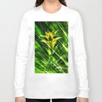 tropical Long Sleeve T-shirts featuring Tropical by cafelab