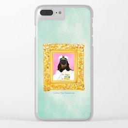 Spaniel the Casanova Clear iPhone Case