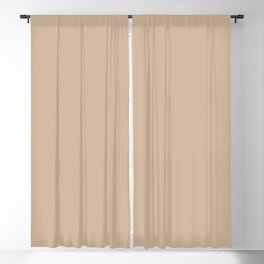Down To Earth Beige Solid Color Pairs To Valspars 2021 Color of the Year Maple Leaf 2008-8B Blackout Curtain