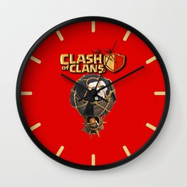 CLASH BALLON,COC Wall Clock
