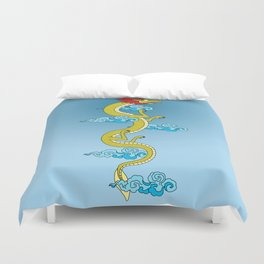 Dragon of the Himalayas Duvet Cover