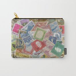 World Stamps Carry-All Pouch