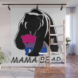 Mama Bear Bisexual Wall Mural