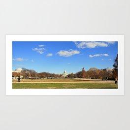 Capital Building Art Print
