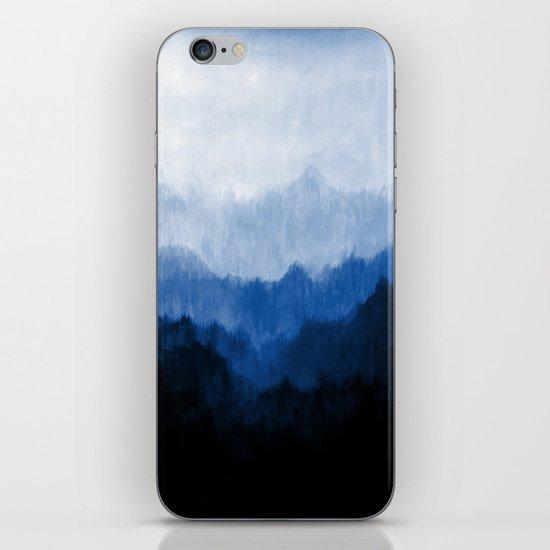 Mists - Blue iPhone & iPod Skin