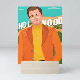 Once Upon A Time in Hollywood Mini Art Print