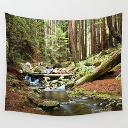 Crystal Stream Wall Tapestry
