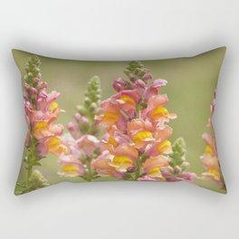 Snappy Tangerine Tango Rectangular Pillow