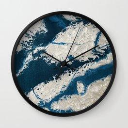 Winter on Krypton Wall Clock
