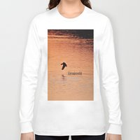 not all who wander Long Sleeve T-shirts featuring Wander by Nonna Originals