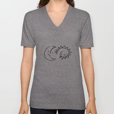 moom and snuh Unisex V-Neck