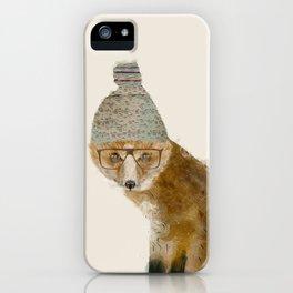 indy fox iPhone Case