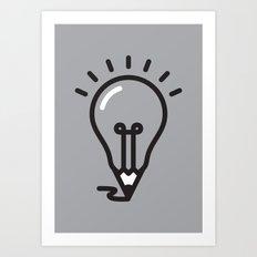 Great ideas Art Print