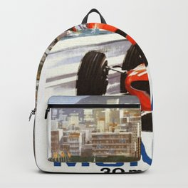 1965 Monaco Grand Prix Racing Backpack