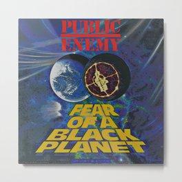 Public Enemy  / Fear of a black planet album cover Metal Print