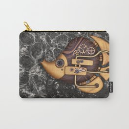 Steampunk Butterflyfish Carry-All Pouch