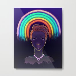 They are glowing! Metal Print