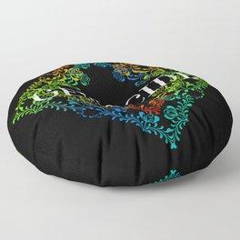 Genocide Dark Floor Pillow