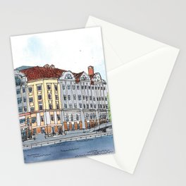Business Center Fish Market, Kaliningrad, Russia Stationery Cards