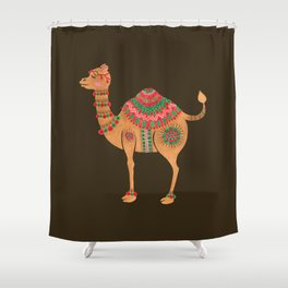 The Ethnic Camel Shower Curtain
