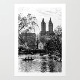 New York City Central Park Art Print