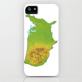 Physically United States iPhone Case
