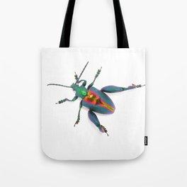 Frog-legged Beetle... Oh-so-shiny! Tote Bag
