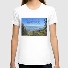 Psalms 121:1-2 T-shirt