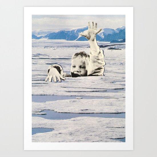 Ice Trap Art Print