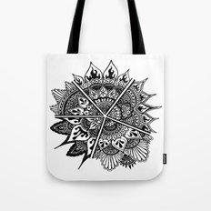 Mandala Chaleur Tote Bag