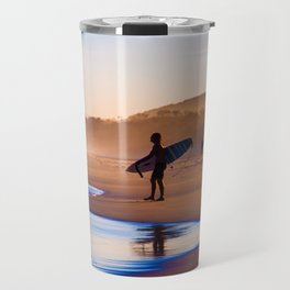 Surfing in the paradise Travel Mug