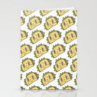 taco Stationery Cards featuring Taco Buddy by Frenemy
