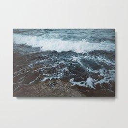 Crashing Waves Metal Print