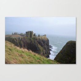 Dunnottar Castle in Stonehaven Canvas Print