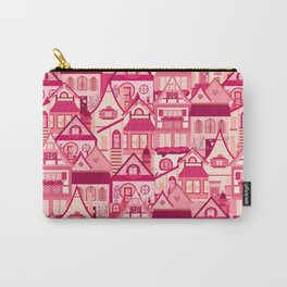 Pink Little Town Carry-All Pouch