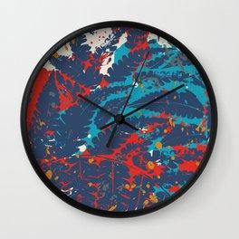 Fern silhouette Wall Clock