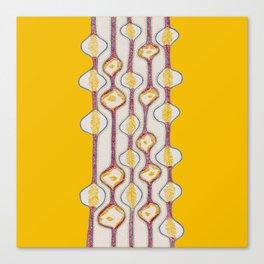 Stitches - Growing bubbles Canvas Print